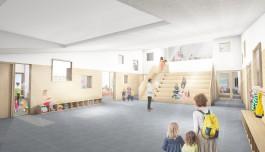 omvormen van kerk Sint-Pieter tot school