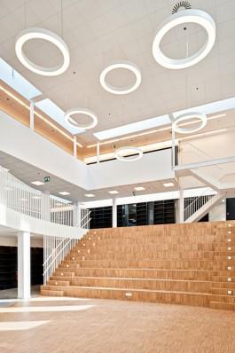 Bibliotheek De Pinte, interieur